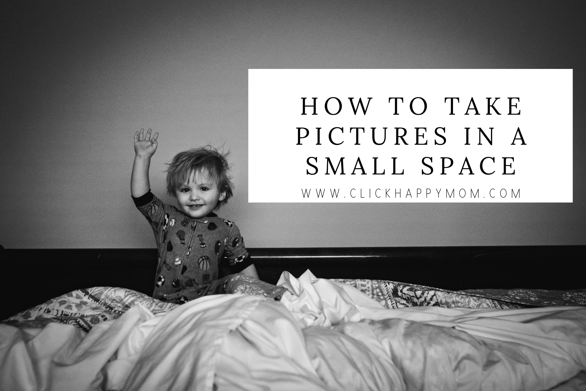 How to Take Pictures in a Small Space