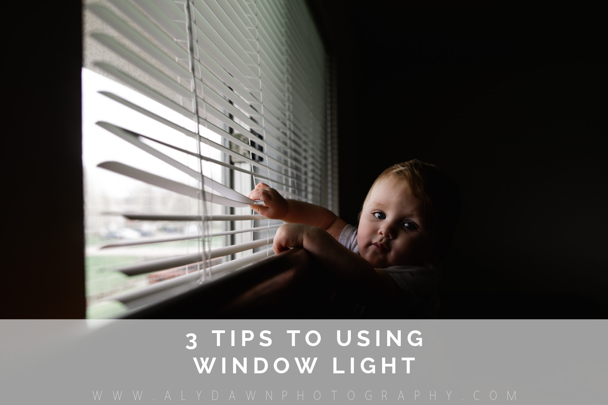 3 Tips to Using Window Light