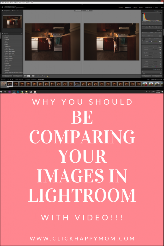 Why You Should be Comparing Your Images in Lightroom